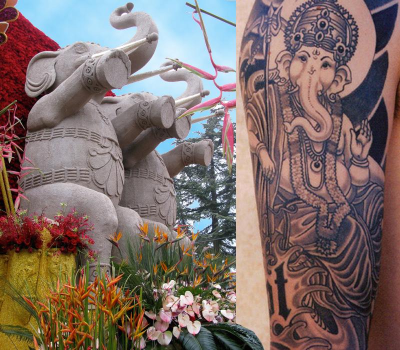 Ganesh Tattoo Images: Roses, Ink And Ganesh .